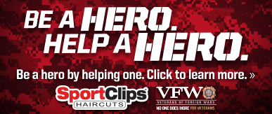 Sport Clips Haircuts of Sunset Hills/Kirkwood ​ Help a Hero Campaign